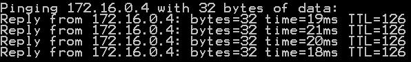 Pinging a virtual machine inside an Azure Virtual Network