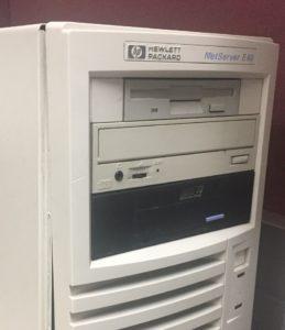 HP Netserver E60 running SCO Openserver 5.0.5