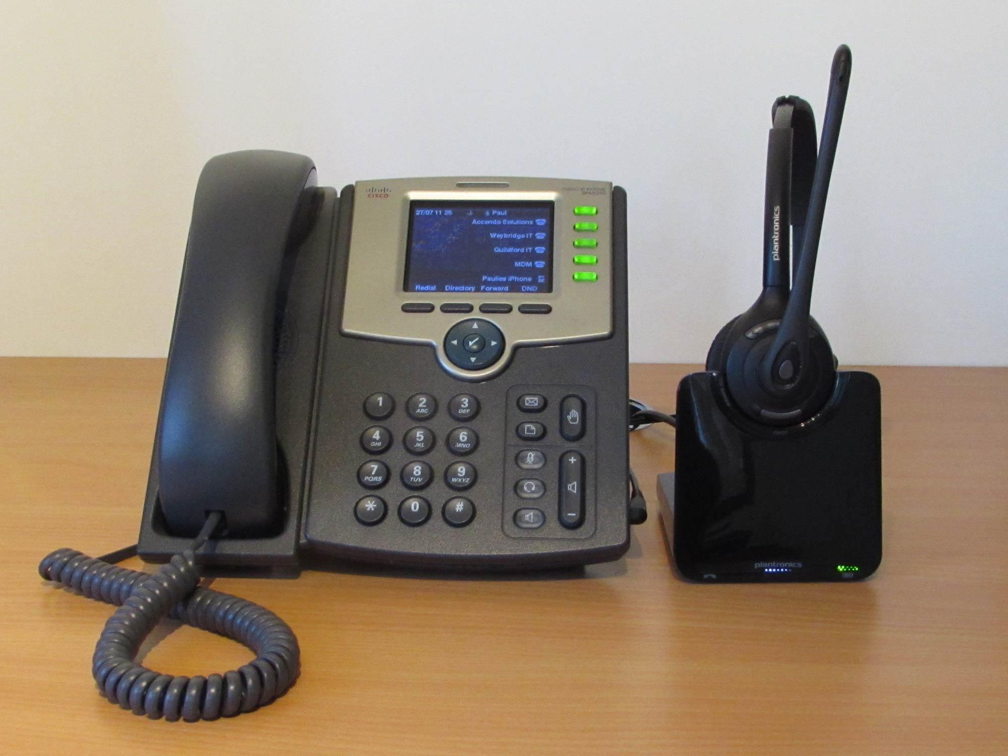 Plantronics Cs500 Series Wireless Headset For Cisco Spa 500 Series Ip Phones