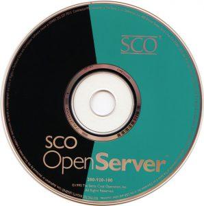 Image of SCO Openserver 5.0.0 CD