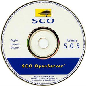 Image of SCO Openserver 5.0.5 CD
