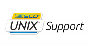 Image of SCO Unix Logo with Technical Support